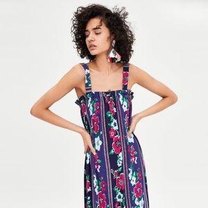 NWT Zara TRF maxi dress